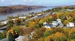 Sardo Land Surveying - Hudson River and surrounding homes